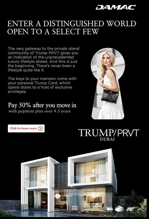 Exclusive Trump Mansion | Pay 50% after you move in