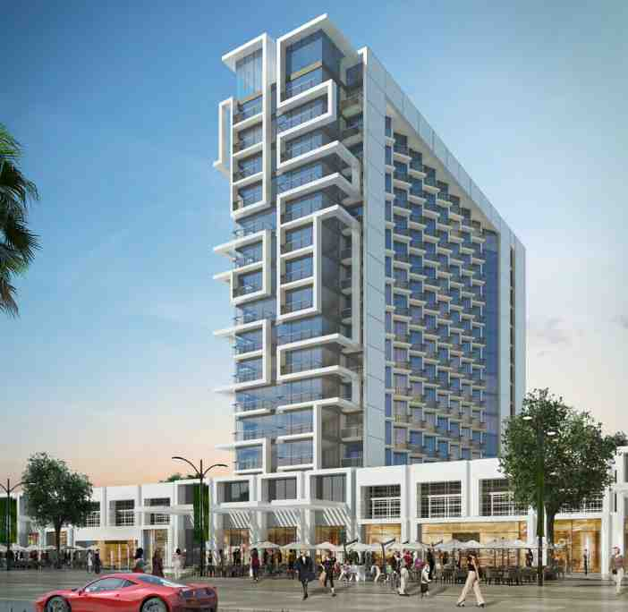 NAVITAS AKOYA OXYGEN Residential Studio and Hotel apartment Building