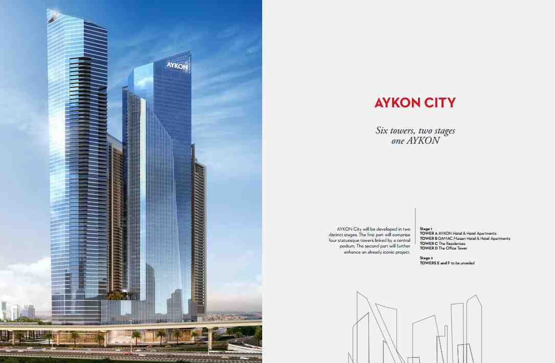 Dubai Aykon City by Damac Properties