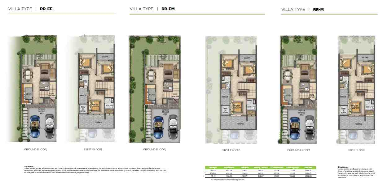 Akoya Imagine Villas Floorplan