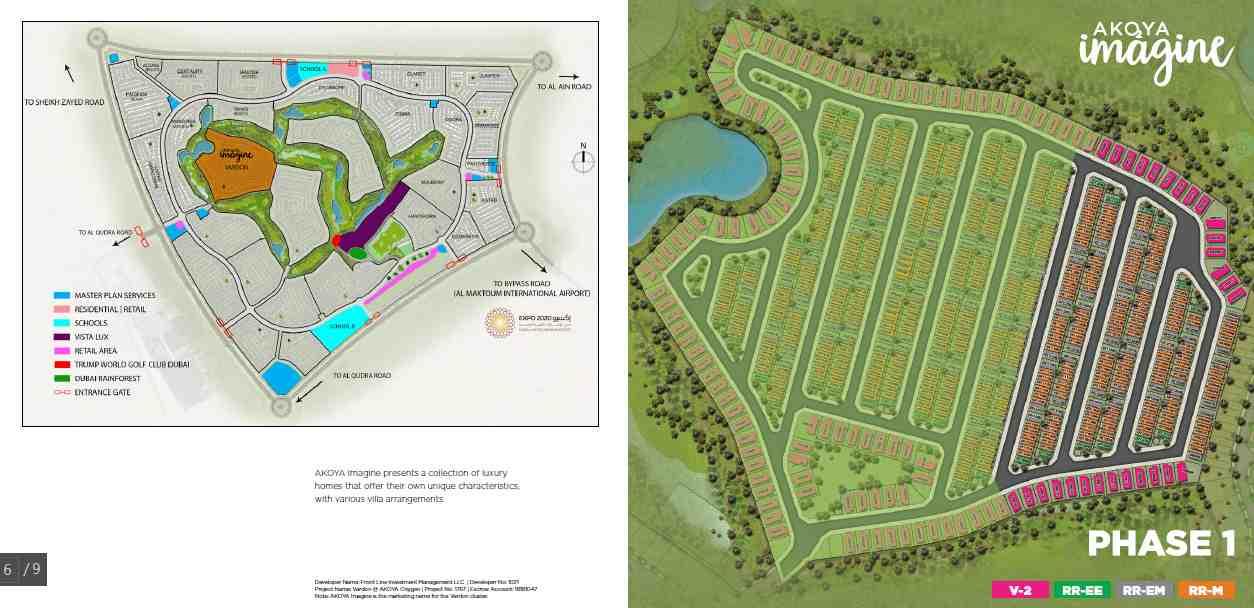 Akoya Imagine Villas Masterplan