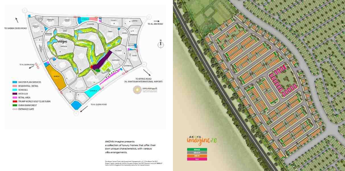 Akoya Imagine plots and Villas by Damac Properties