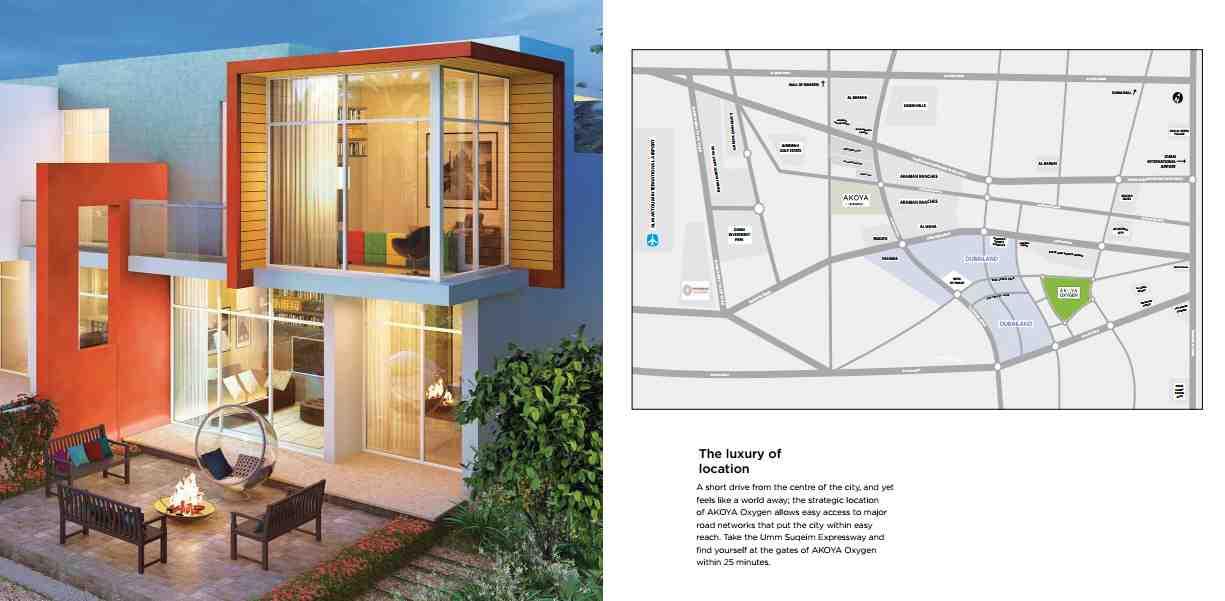 Akoya Imagine plots and Villas