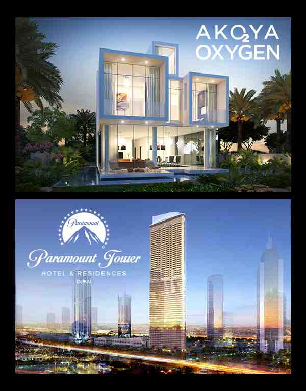DAMAC AKOYA and Paramount Towers