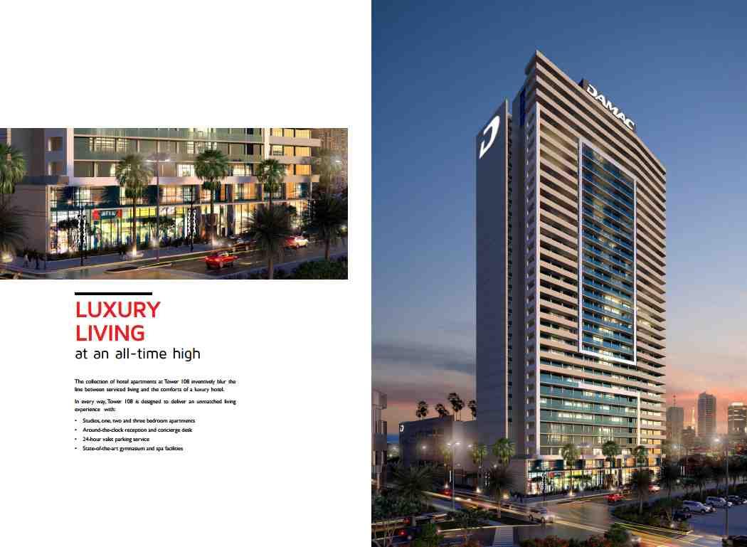 Damac Tower 108 Apartments