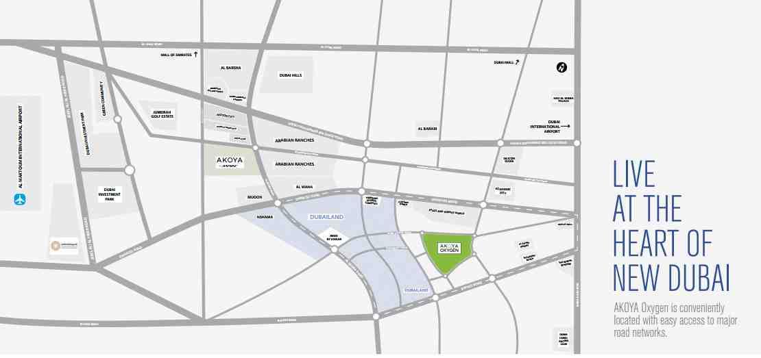 akoya-selfie-townhouses-villas-and-plots-location