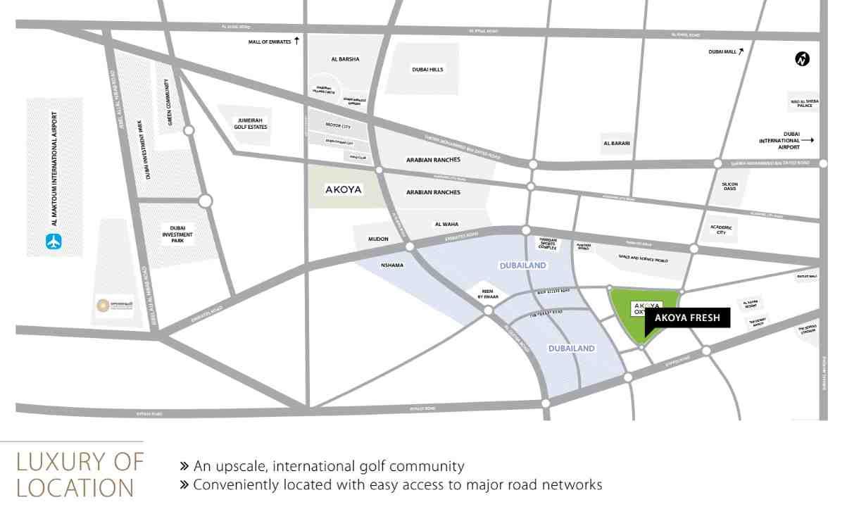 location-akoya-fresh-villas