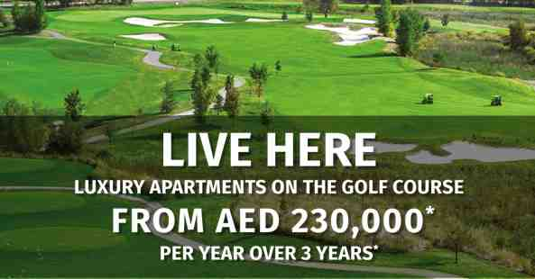 Apartments on the golf course at The Drive AKOYA