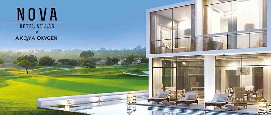 Nova Hotel Villas at AKOYA Oxygen BACK TO LISTING Furnished hotel villas in a premium golf community