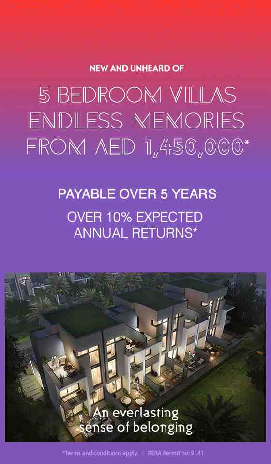 Akoya Genus 5 bedroom villas