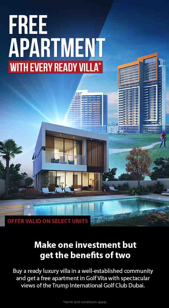 Exciting Offer! | Buy 1 DAMAC Hills VD-1 Villa and get 1 Golf Vita Apartment for Free