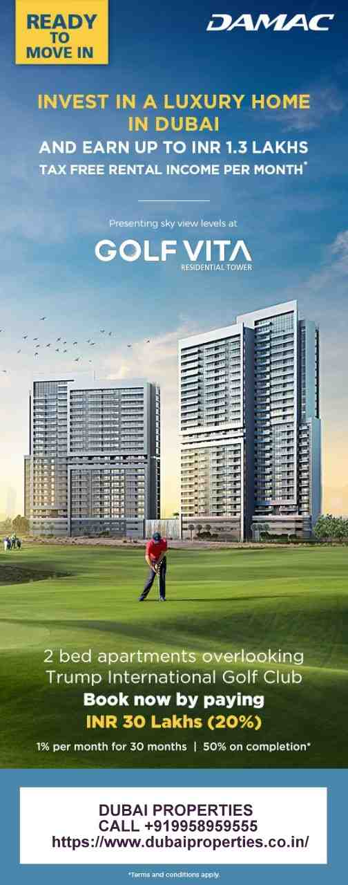 DAMAC DUBAI golf vistas CALL +919958959555 Pls call for more details. #DUBAI #PROPERTIES CALL +919958959555 https://www.dubaiproperties.co.in/ Don't miss the opportunity to book a luxury unit from a range of our finest properties. Many are ready to move in and come with special payment plans. #dubairealestate #dubairealestateagent #dubairealestatebroker #dubairealestatebuying #dubairealestateproperty #dubairealestates #dubairealestateselling #dubairealestatebrokers #dubaiproperties #dubaipropertiesforsale #DAMACProperties #DAMACOfficial #Realestate #LuxuryProperty #MyDubai @ Dubai, United Arab Emirates