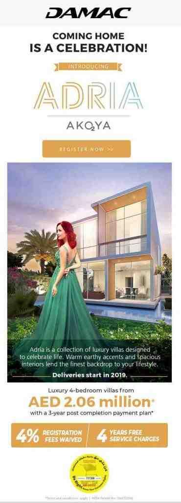 Adria Villas | DAMAC Properties