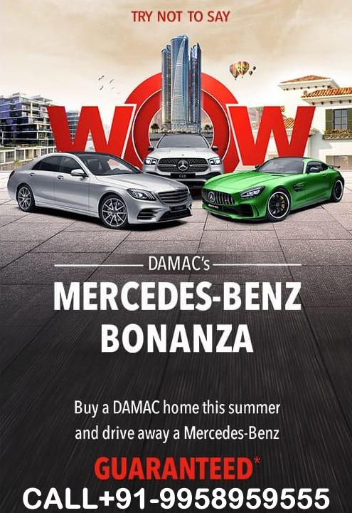GET A MERCEDES CALL 9958959555 DAMAC DUBAI